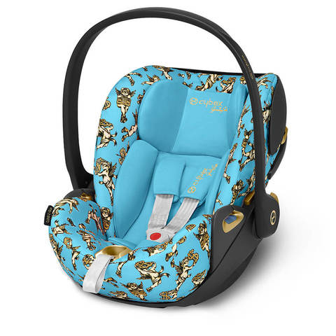 Автокресло Cybex Cloud Z-iSize JS Cherubs Blue