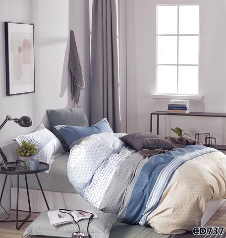 1.5-Спальное постельное белье сатин Arlet CD-737