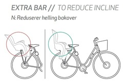 Штанга для уменьшения угла наклона Hamax Extra Bar To Reduce Incline (Siesta/Caress) - 2