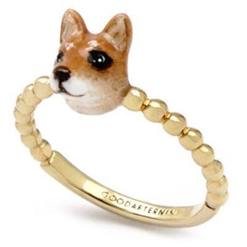 Мини-кольцо Собака