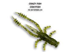 Силикон CRAZY FISH CRAYFISH 26-45-16-6