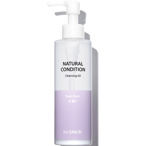 SAEM Natural Condition Гидрофильное масло Natural Condition Cleansing Oil Deep Clean 180мл
