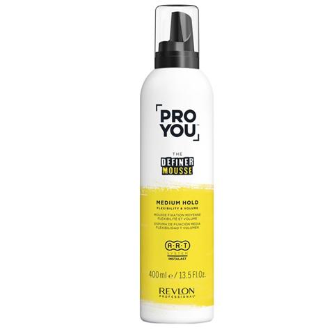 REVLON ProYou Definer Styling: Мусс средней фиксации для движения и объема волос (Mousse Medium Hold), 400мл