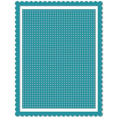Нож для вырубки We R Memory Keepers Revolution Die- Card Front Stitch Grid