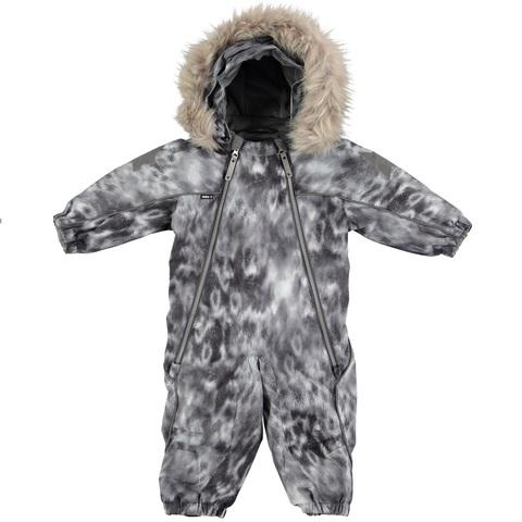 Детский комбинезон Molo Pyxis Fur Seal с меховой опушкой
