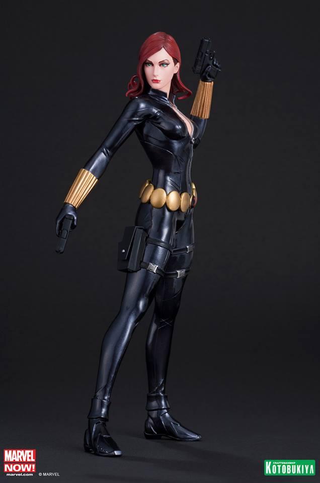 The Avengers 1/10 Now Black Widow ArtFX Statue