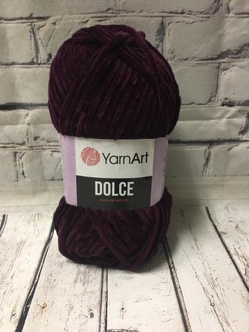 Пряжа Dolce YarnArt  780 баклажан