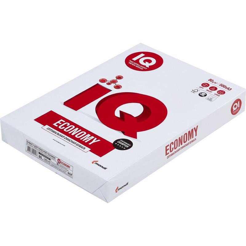 Бумага для офисной техники IQ Economy (А3, марка C, 80 г/кв.м, 500 листов)