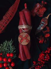Свеча «Костер обольщения»