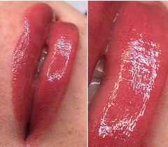 Пигмент для губ Watermelon ice (Арбузный лед) от Алины Шаховой