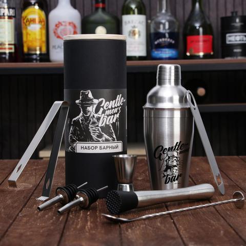 Набор барный «Gentlemen's bar», 8 предметов
