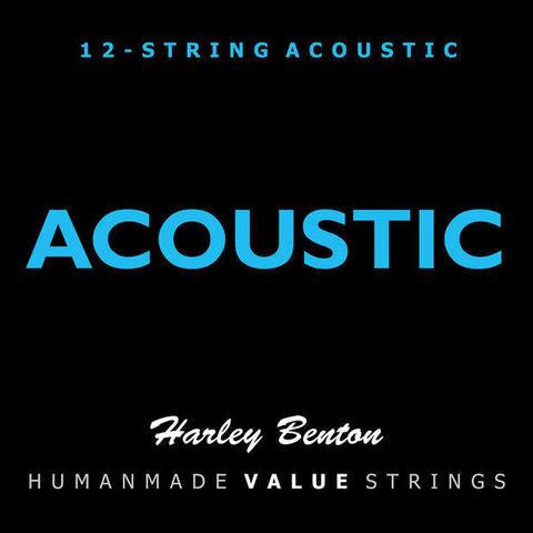 Струны для 12-струнной акустической гитары Harley Benton Valuestrings Acoustic (Бронза)
