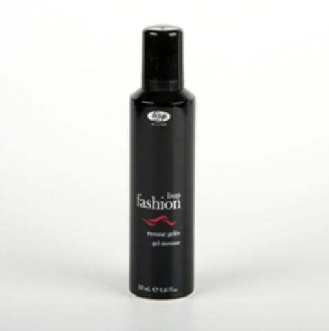 Мусс-гель для создания долговременного эффекта завитых волос - Lisap Fashion Extreme Gel Mousse