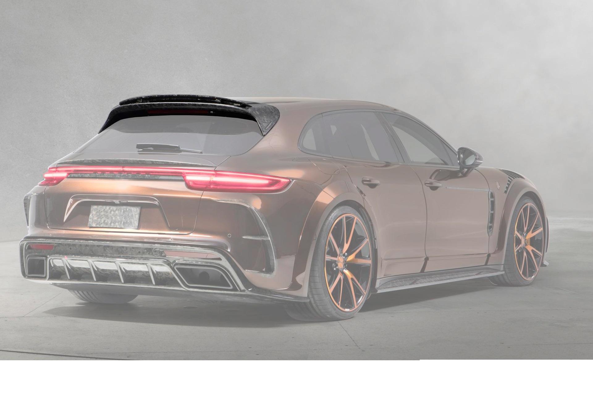 Карбоновый спойлер на багажник Mansory Style для Porsche Panamera