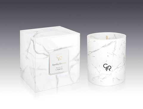 Golden Rose Свеча декоративная GR VANILLA DREAM CANDLE