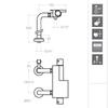 Смеситель термостатический для ванны AROLA 2635S напольный - фото №2
