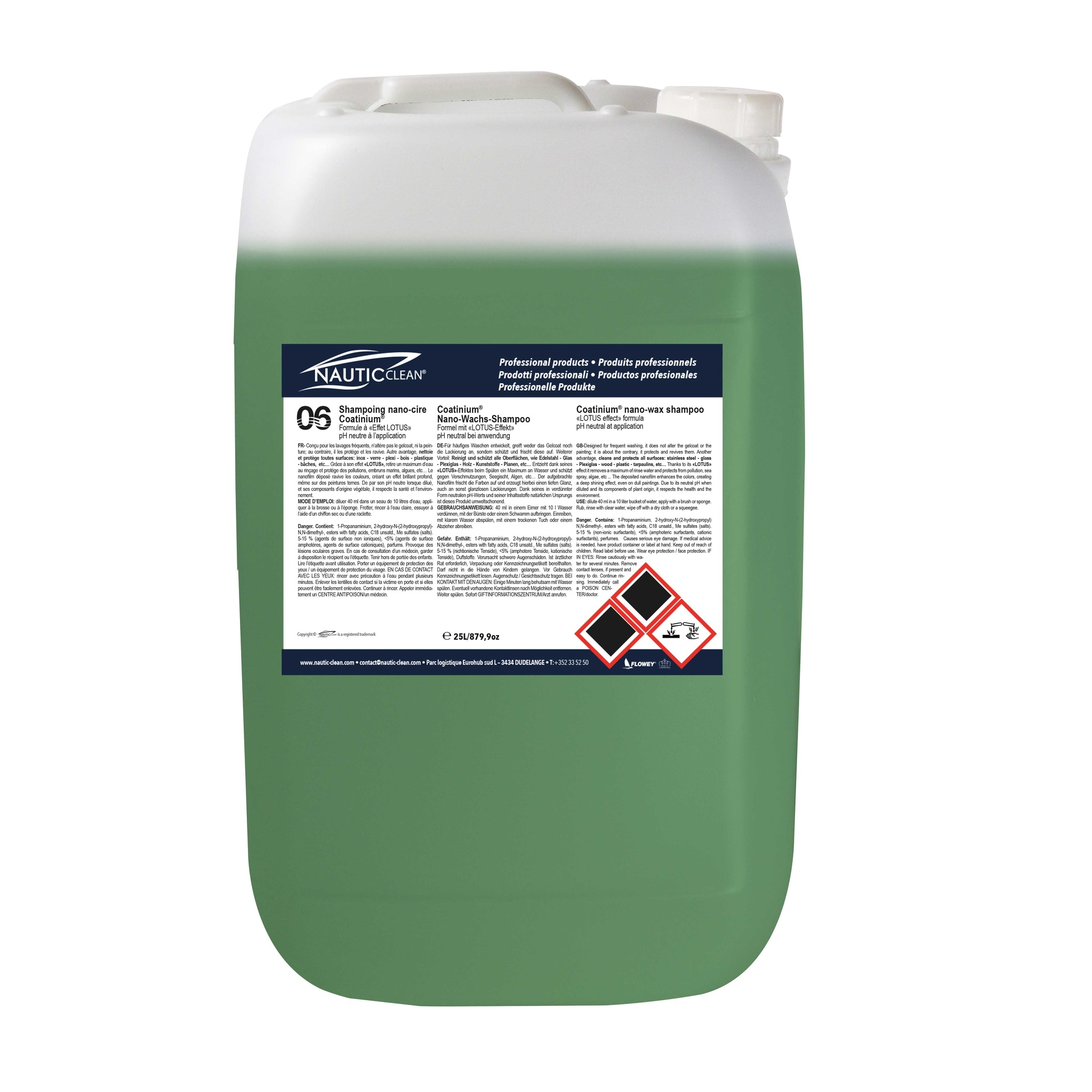 Coatinium® nano-wax shampoo №06