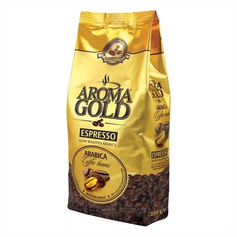 Кофе DAISENA Aroma Gold Espresso зерно 250 г м/у ЛИТВА