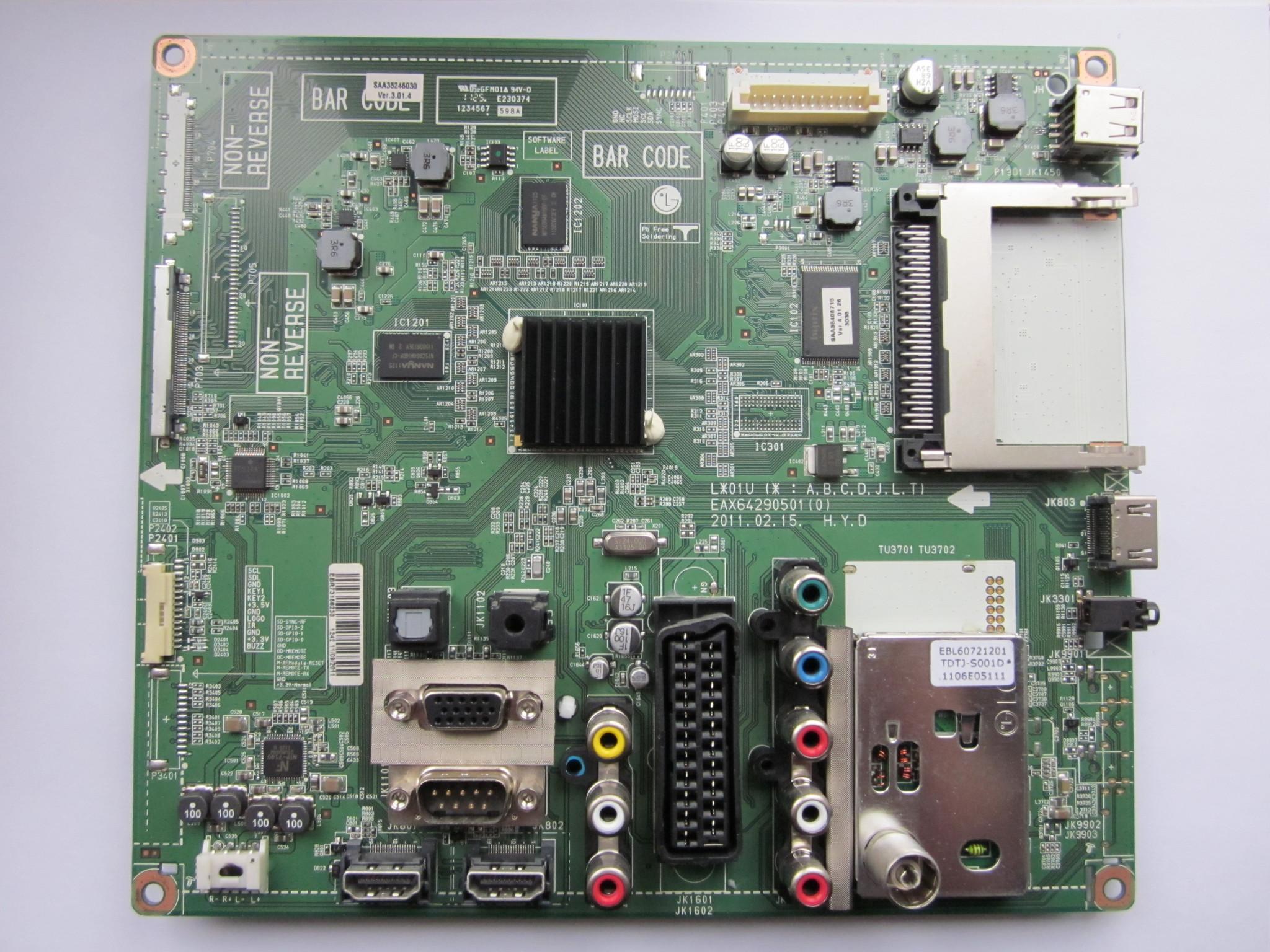 Плата MAIN LG 42LK430