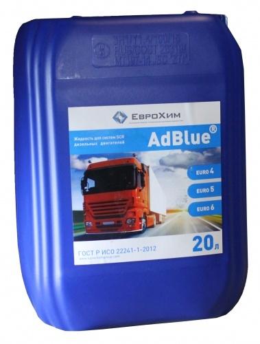 Еврохим AdBlue (20л)  - Водный раствор мочевины