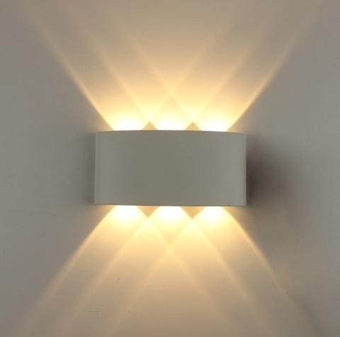 Декоративная светодиодная подсветка ЭРА WL12 WH 6*1Вт IP54 белый