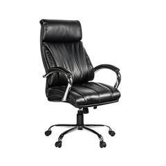 Кресло для руководителя Easy Chair 516 RT черное (рециклированная кожа/металл)