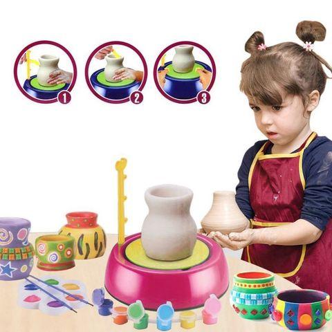 Гончарный набор Pottery Machine For Kids 8+ (Гончарный круг)