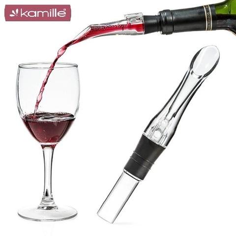 Дозатор с аэратором для вина 4*2,5*16см из акрила
