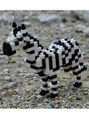 Конструктор Wisehawk Зебра 184 детали NO. D15 Zebra Gift Series
