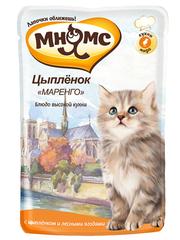 """Пауч для котят Мнямс  Цыпленок """"Маренго"""""""
