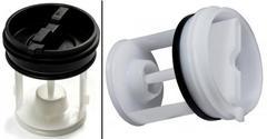 Фильтр - заглушка сливной помпы стиральной машины Аристон, Индезит