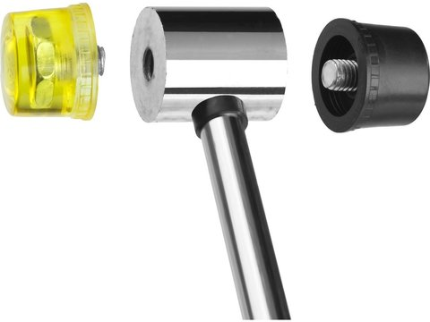 STAYER 285 г 35 мм молоток-киянка с полимерными бойками