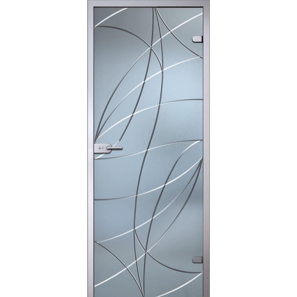 Стеклянные межкомнатные двери Межкомнатная стеклянная дверь АКМА Аврора стекло беcцветное матовое avrora-dvertsov-min.jpg
