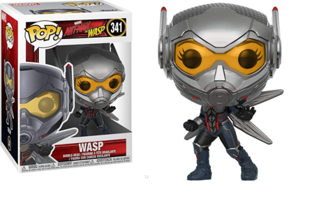 Фигурка Funko POP! Bobble: Marvel: Ant-Man & The Wasp: Wasp 30730