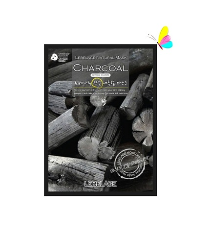 Lebelage Natural Mask Charcoal