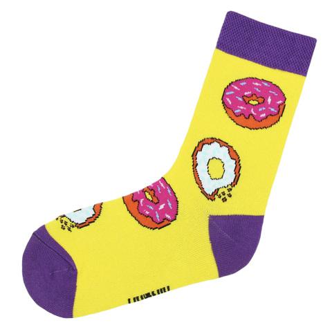 Носки с пончиками