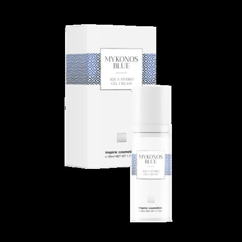 INSPIRA Интенсивно увлажняющий гель-крем Mykonos Blue | Mykonos Blue Aqua Hydro Gel Cream