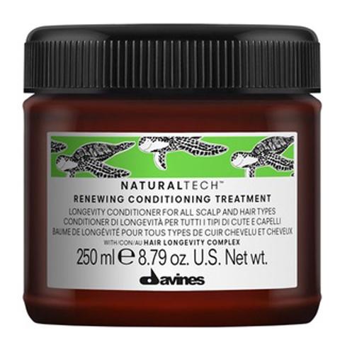 Davines NaturalTech Renewing: Обновляющий кондиционирующий уход для волос (Renewing Conditioning treatment)