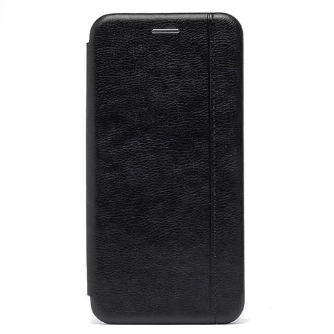 Чехол книжка для iPhone 12/12 Pro   магнит подставка черный