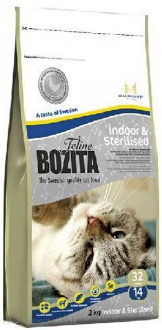 30320 BOZITA Funktion Indoor&Sterilised сух.корм д/Домашних и стерилизованных кошек 2кг*6 НОВИНКА