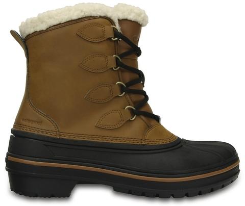 Женские зимние ботинки CROCS Women's AllCast II Boot Wheat