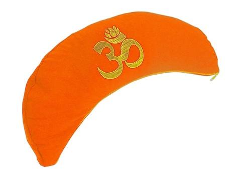 Подушка-полумесяц для медитации Сурья, 38х15х9см