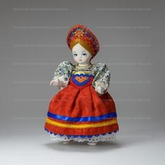 Сувенирная кукла Крестьянская девочка