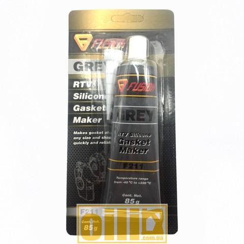 Fusion F211 RTV SILICONE GASKET MAKER GREY 85г