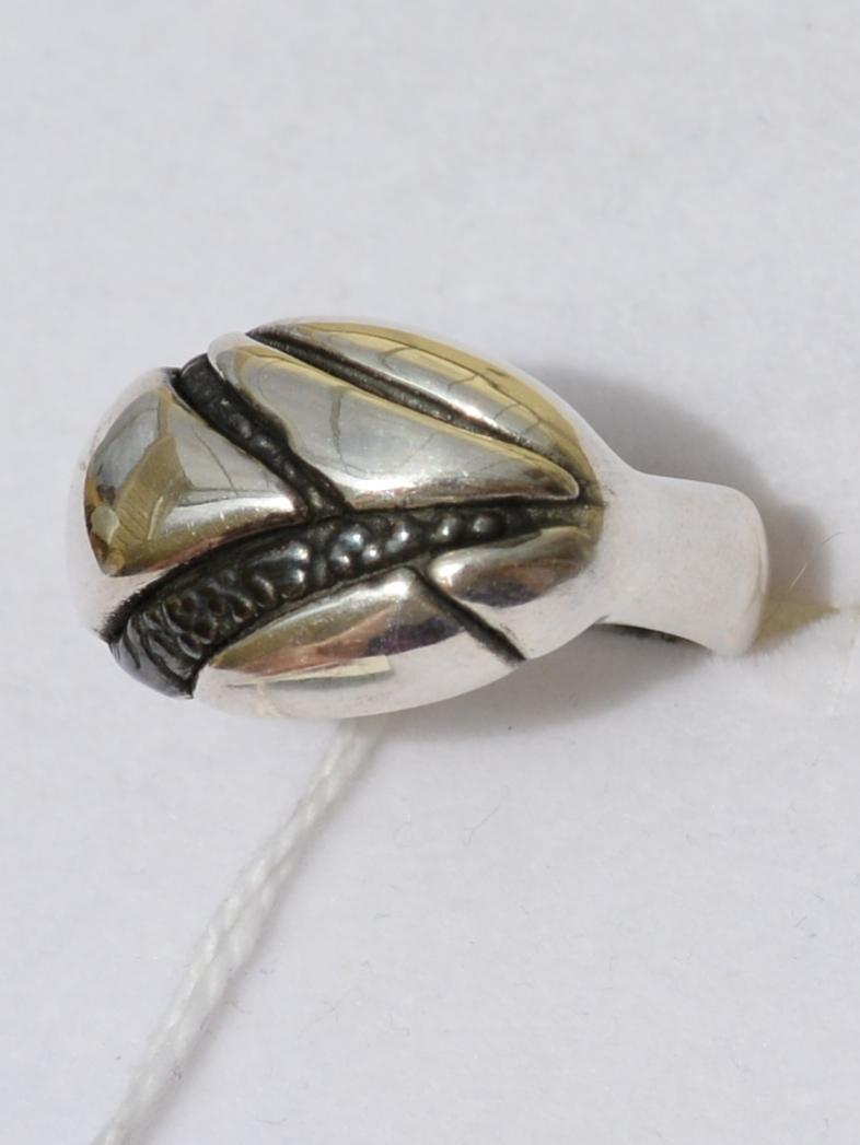 Флауш (кольцо из серебра)