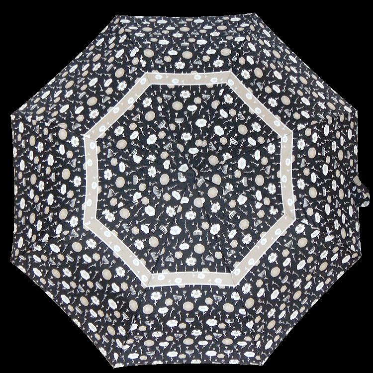 Зонт складной Perletti Technology 21653-1 Fiore bordo