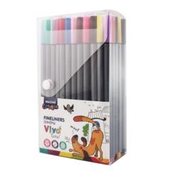 Mazari Vivo Line набор капиллярных ручек линеров 0.4 мм - 72 цвета
