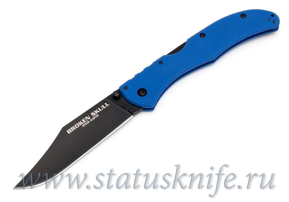Нож Cold Steel Broken Skull Blue IV