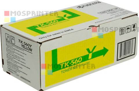 TK-560Y для Kyocera Mita FS C5300DN/P6030