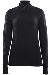 Термобелье Рубашка Craft Fuseknit Comfort High Neck Black женская